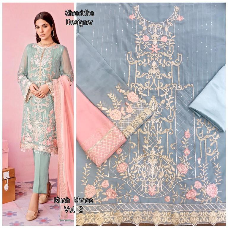 Embroidery Work Suits