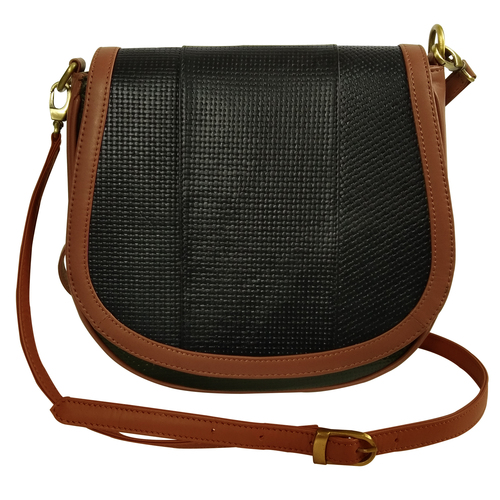 Women Leather Sling Crossbody Shoulder Bag