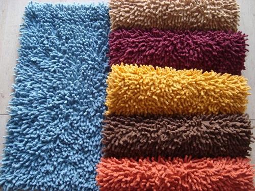 Chenille Shaggy Bath Mat