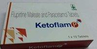 flupirtine maleate paracetamol tablets