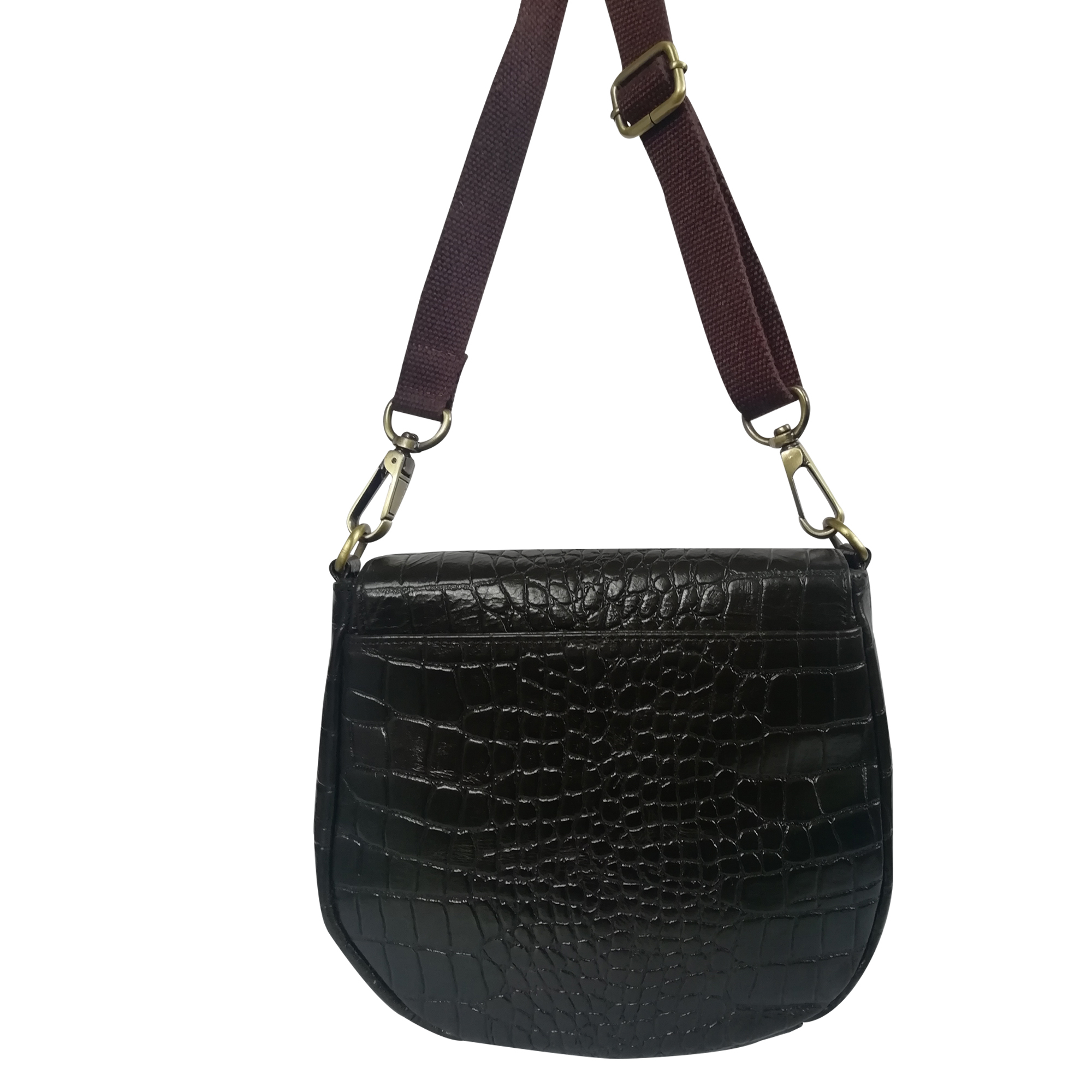 Women Leather Fashionable Sling Crossbody Shoulder Bag