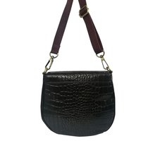 Women Leather Fashionable Sling Bag