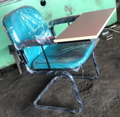 Green Writing Pad Chair