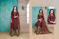 Fancy Designer Silk Suits