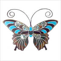 Butterfly Inlay Marble Piece