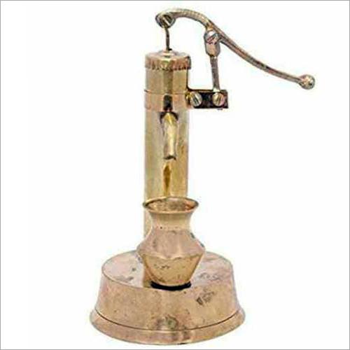 Brass Hand Pump Statue
