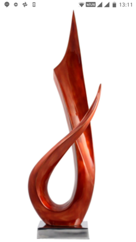 Fiberglass Designer Sculpture