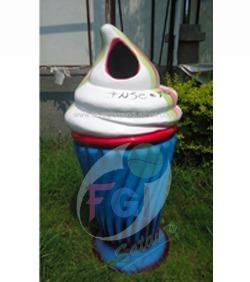 Ice Cream Dustbin