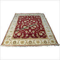 Printed Handmade Knotted Carpet