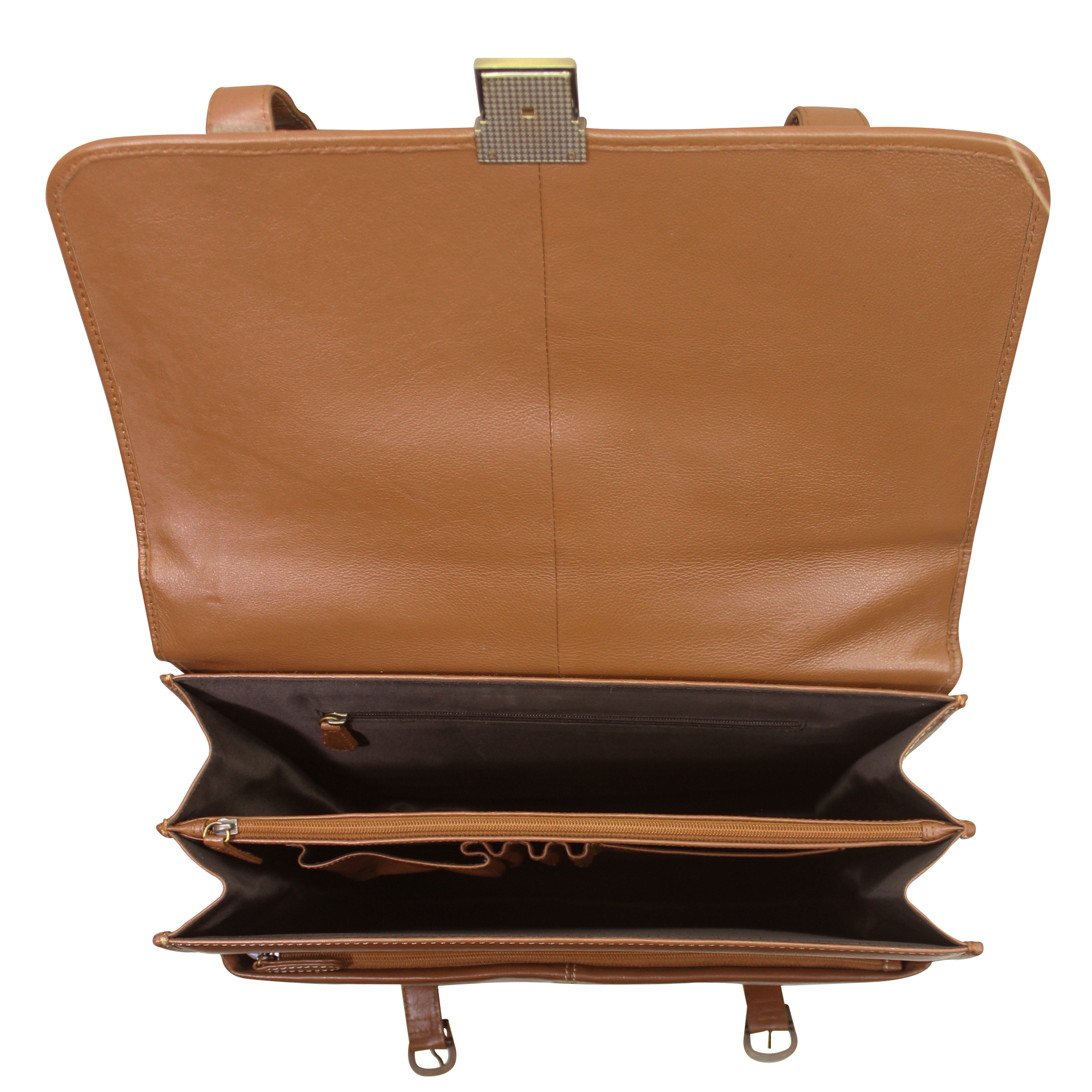 Leather Briefcase Office Bag For Men