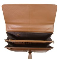 Men Leather Office Bag Briefcase