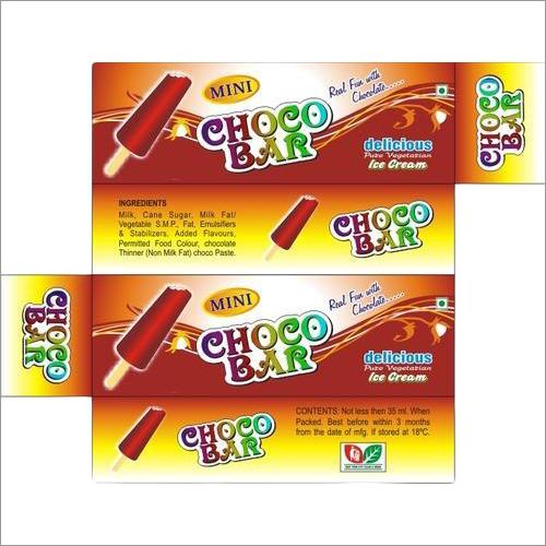 Printed Choco Bar Box