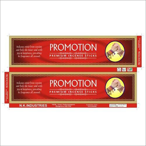 Promotion Agarbatti Box