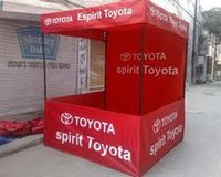 Advertisement Demo Tent