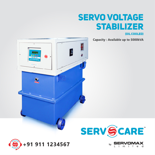 5000 kva Oil cooled Servo Voltage stabilizer