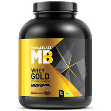 Muscle Blaze Whey Gold Protein,2kg(4.4 lb) Rich Milk Chocolate