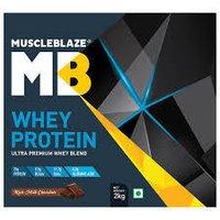 MuscleBlaze Whey Protein,2Kg (4.4 lb )Rich Milk Chocolate