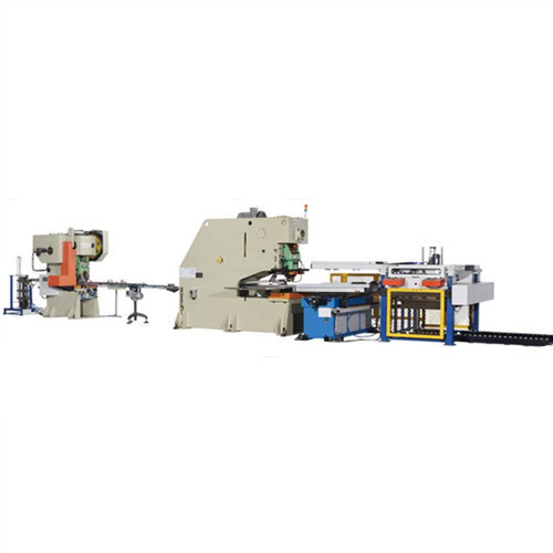 Production line of CNC punch press