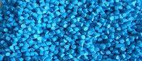Blue HIPS Plastic Granules
