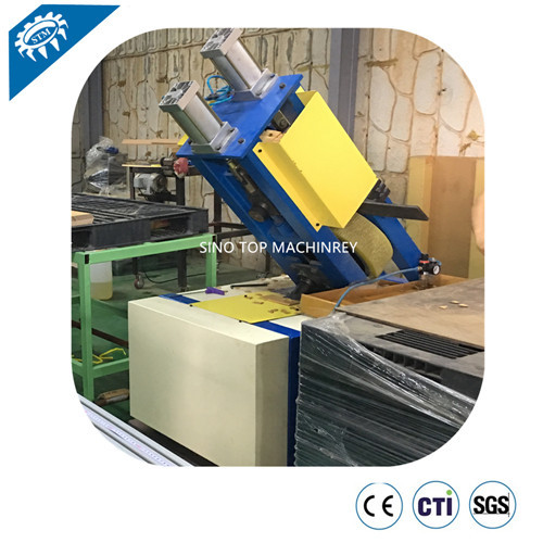 Wrap Around Coil Edge Protector Rotary Machine
