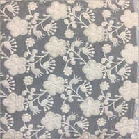 Plain Georgette Embroidery Fabric