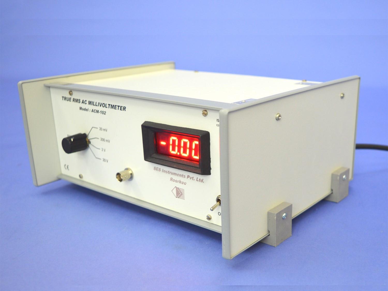 True RMS AC. Millivoltmeter, ACM-102