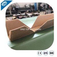 Automatic U shape and flat board edge protector machine