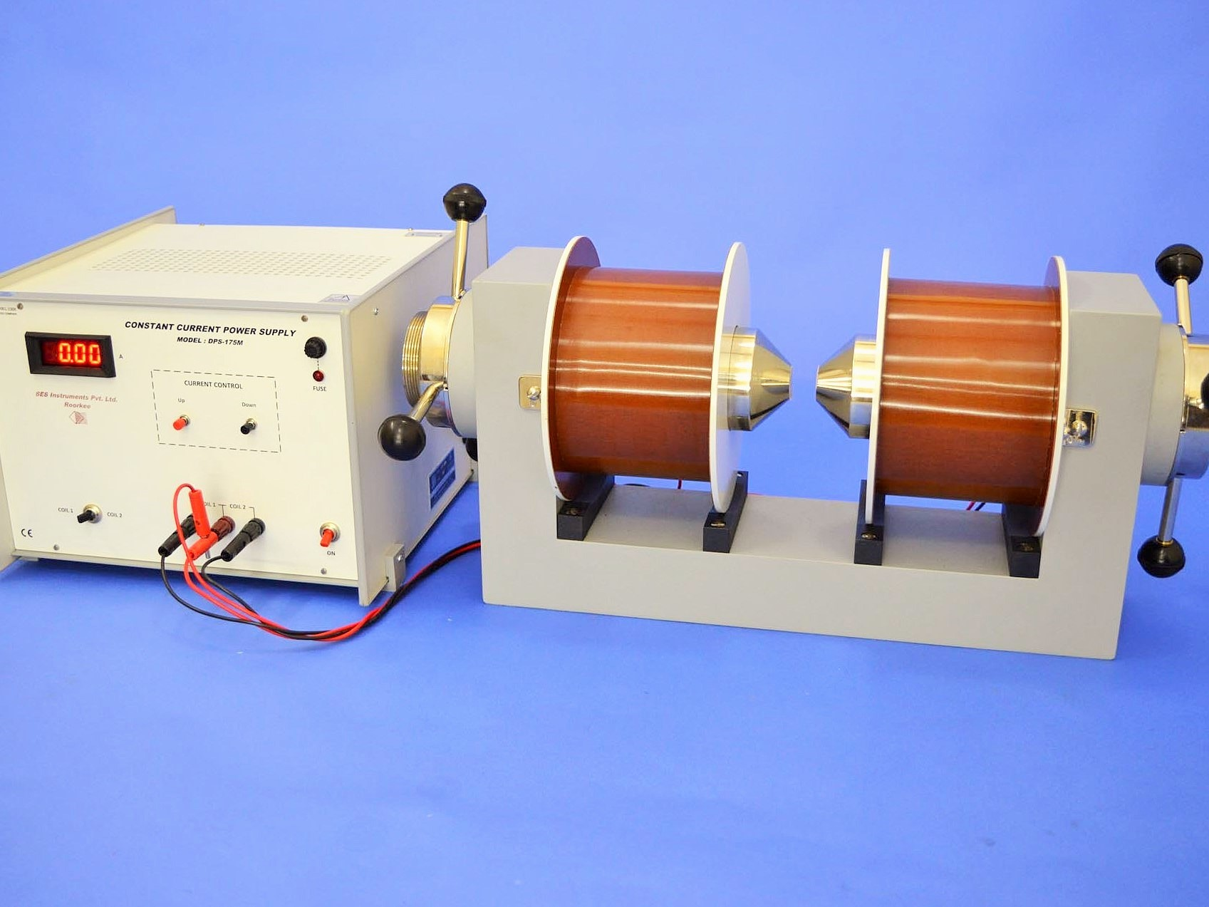 Electromagnet & Power Supply, EMU-75 & DPS-175M