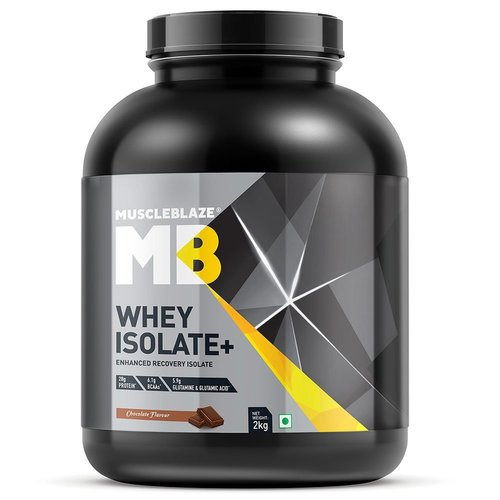 MuscleBlaze Whey Isolate +,2kg (4.4 lb )Chocolate