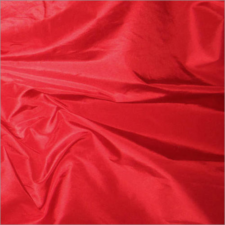 Red Taffeta Silk Fabric