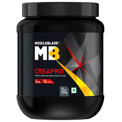 MuscleBlaze CreaPRO Creatine with Creapure, Unflavoured (0.25kg)0.55 lb