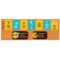 MuscleBlaze Protein Bar (22g Protein), 12 Piece(s)/Pack Almond Fudge