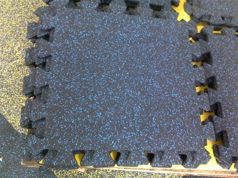 Interlocking Rubber Gym Mats