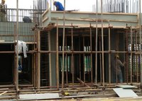 PE Hollow Construction Formwork Machine