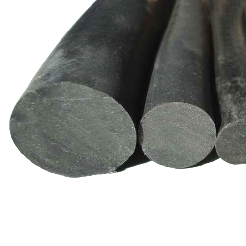 black Neoprene Rubber Cords