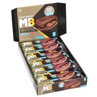 MuscleBlaze Hi-Protein Bar (30g Protein), 12 Piece(s)/Pack Choco Delight