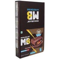 MuscleBlaze Hi-Protein Bar (30g Protein), 12 Piece(s)/Pack Choco Delight