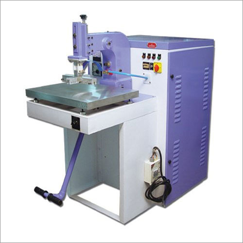 Rexine Embossing Machine
