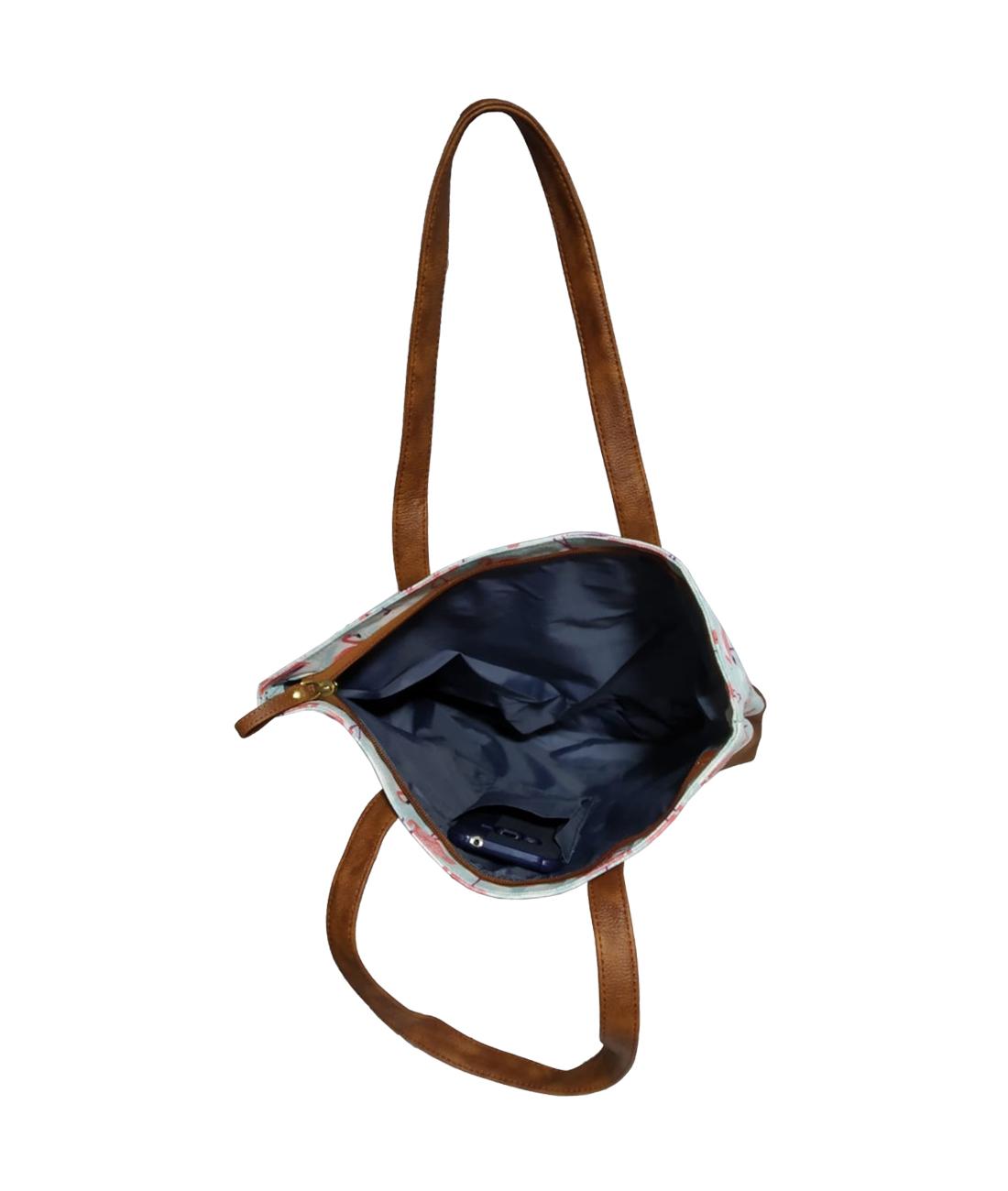 Caris Printed Shopping Bag