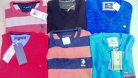 Surplus Branded Round neck / Collar Neck Tshirts with bill for resale