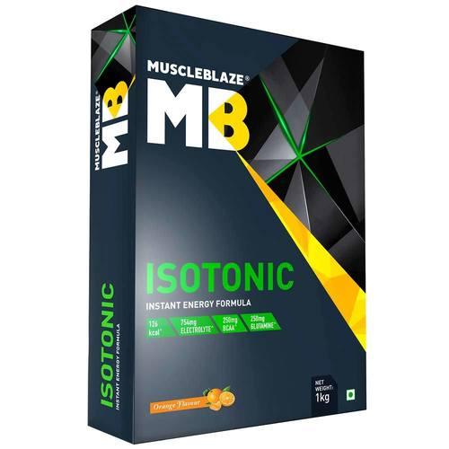 MuscleBlaze Isotonic Instant Energy Formula, (1kg)2.2 lb Orange
