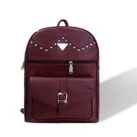 Caris Leatherette Backpack Bag