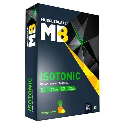 MuscleBlaze Isotonic Instant Energy Formula, 1 kg(2.2 lb) Pineapple