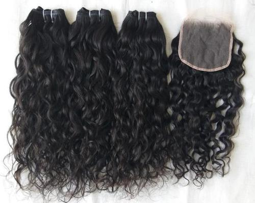Natural raw unprocessed virgin Indian human hair