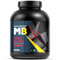 MuscleBlaze Carb Blend,3kg( 6.6 lb )Unflavoured