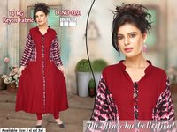 Branded Trifoi Rayon / Cotton Kurtis with bill for resale in India