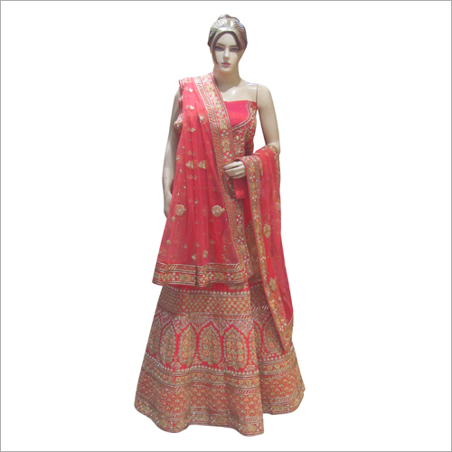 Heavy Embroidered Ladies Lehenga