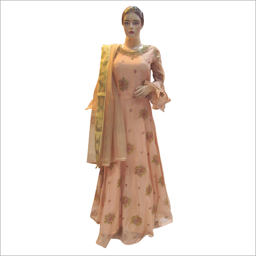 Ladies Fine Embroidered Gown