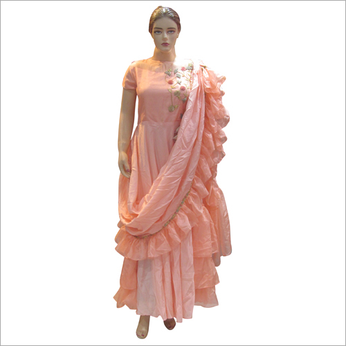 Ladies Party Wear Fancy Gown
