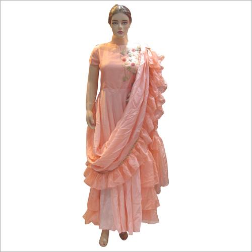 Ladies Party Wear Fancy Gown
